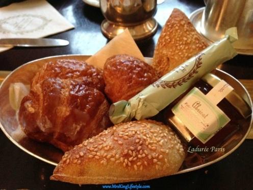 3 Laduree Paris Breakfast