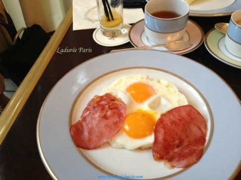 5 Laduree Paris Breakfast