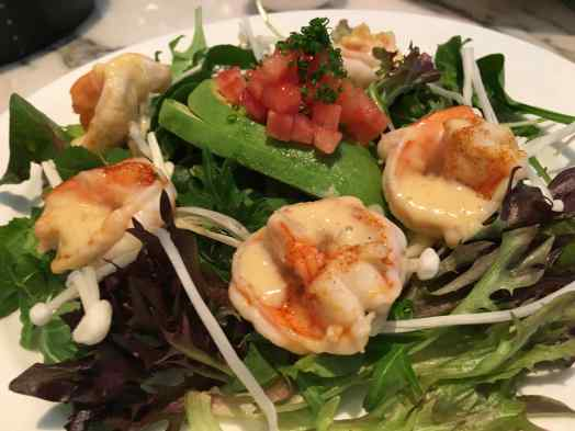 12 Dempsey Cookhouse Prawn Salad