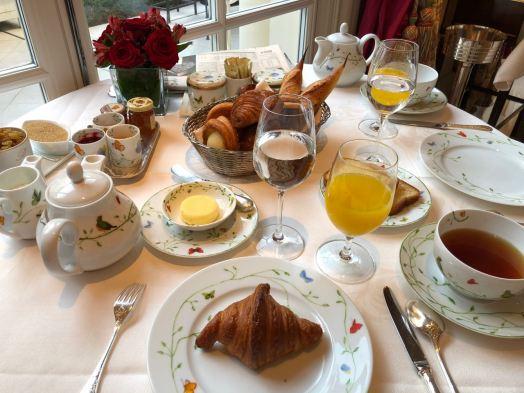 L'Epicure breakfast